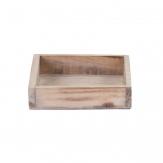 Holztablett natur oder weiß in zwei Größen 1Stk