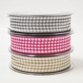 Karoband in verschiedenen Farben 25mm15m