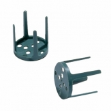 Oasis® Befestigungshilfe oder Gesteckhalter Pinholder Ø 3cm(100St)