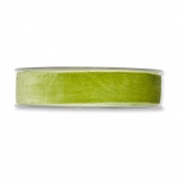 Samtband grün 25mm x 9,5m