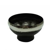 Schale schwarz-silber Ø20cm 1Stk