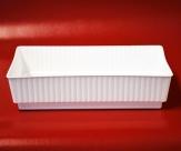 Steckschale Lara klein in weiß 15 x 8 cm 10 Stück