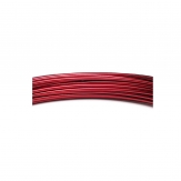 Aludraht bordeaux-rot 2mm60m