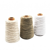 Baumwollkordel auf Spule in drei Farben 2mm500m