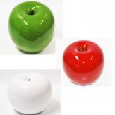 Deko Äpfel in verschiedenen Farben 22cm 1Stk