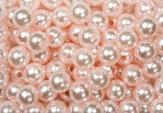 Deko Perlen rosa in zwei Größen