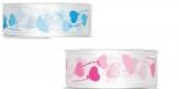Baby an Bord Dekoband rosa oder blau 25mm20m