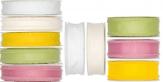Dekoband Fransig in verschiedenen Farben und Größen 25m