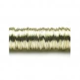 Dekodraht lackiert champagner Ø 0,50mm50m