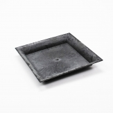 Platte / Dekoteller quadratisch anthrazit 20x20cm 1Stk