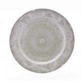 Platte / Dekoteller rund hellgrau Ø25cm 1Stk