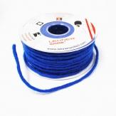 Dochtfaden Wollschnur in blau 5mm35m