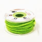 Dochtfaden Wollschnur Wollfilz grün 5mm35m
