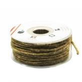 Dochtfaden Lehner Wollschnur hellbraun/grün 5mm35m 1Stk