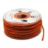 Dochtfaden Wollschnur orange 5mm35m 1Stk