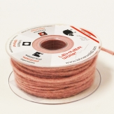 Dochtfaden Wollschnur Wollfilz rosa 5mm35m