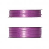 Doppel Satinband pink erika 50m in zwei Größen