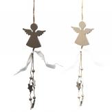 Engel mit Sternen zum Aufhängen 30cm 1Stk