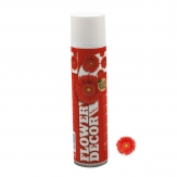 Blumenspray Flower decor hellrot 400ml