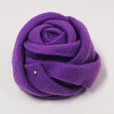 Filz-Rosen lila 13cm 3Stk