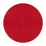 Filz Tischset rund rot Ø40cm 2Stk
