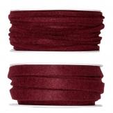 Filzband bordeaux in zwei Größen