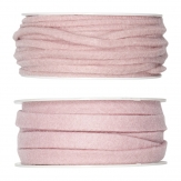 Filzband rosa - hellrosa in zwei Größen