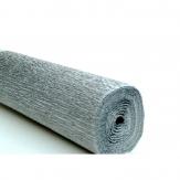 Floristenkrepp -  Alu silber 50x250cm  1Rolle