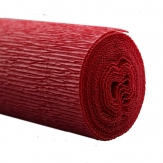 Floristenkrepp rot - bordeaux-rot 50x250cm  1Rolle