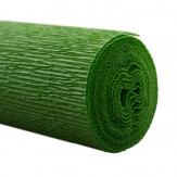 Floristenkrepp grün 50x250cm  1Rolle