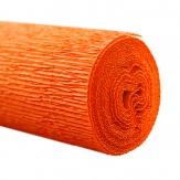 Floristenkrepp orange - hellorange 50x250cm  1Rolle