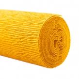 Floristenkrepp gelb - sonnengelb 50x250cm  1Rolle