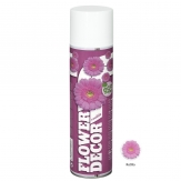 Blumenspray Flower decor rotlila 400ml