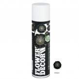 Blumenspray Flower decor schwarz 400ml
