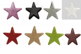 Glitterstern zum Hängen verschiedene Farben 25x25cm
