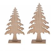 Tannenbaum zum Stellen natur in zwei Größen