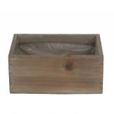 Holzkasten länglich natur 22x11cm 1Stk