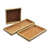 Holztablett in drei Größen 1Stk