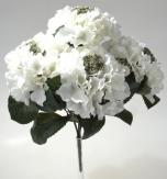 Hortensienbusch weiß 38cm 1Stk