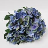 Hortensienbusch blau 38cm 1Stk