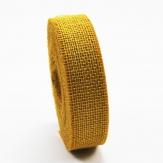 Juteband gelb 50mm x 40m