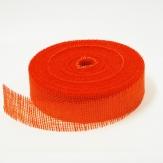 Juteband orange 50mm x 40m