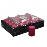 Kerzen pink 8x5cm 24Stk