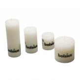 Kerzen weiß in verschiedenen Größen 1Stk