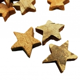 Kokosnuss Sterne natur 5cm 100Stk