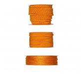 Kordelband - orange in drei Größen