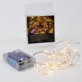 LED Lichterdraht mit Sternen 20 Lichter 2m indoor & outdoor