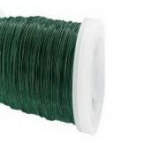Dekodraht Spule grün (Myrtendraht) Ø35mm132m