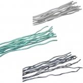 Naturstäbe gefärbt in drei Farben 50cm 12Stk