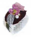 Armband - Perlenarmband weiß oder champagner 1Stk